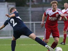 Dippert hat eigentlich gute Erinnerungen an Hertha BSC II - hier schoß er im Hinspiel sein erstes Regionalligator